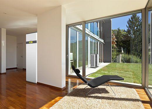 waterkotte basic line ai1 air luft w rmepumpe 6 12 kw. Black Bedroom Furniture Sets. Home Design Ideas