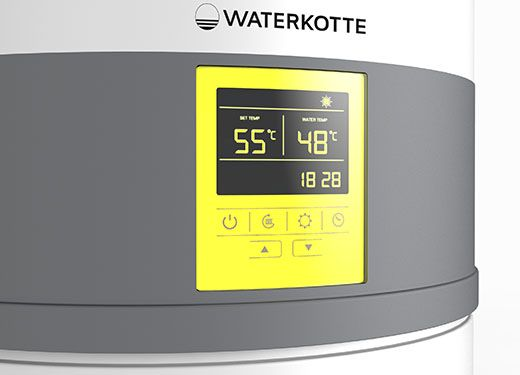 waterkotte ecowell trinkwasserw rmepumpe 1 8 kw. Black Bedroom Furniture Sets. Home Design Ideas