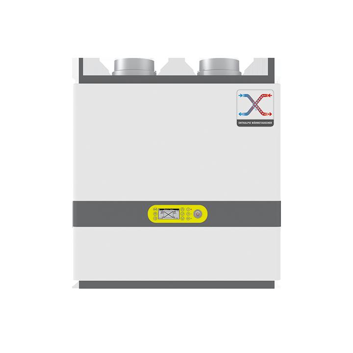 BasicVent Enthalpie - Zentrale Wohnraumlüftung 270 m³/h